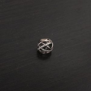 Pandora Galaxy Charm (Silver, Beaded)